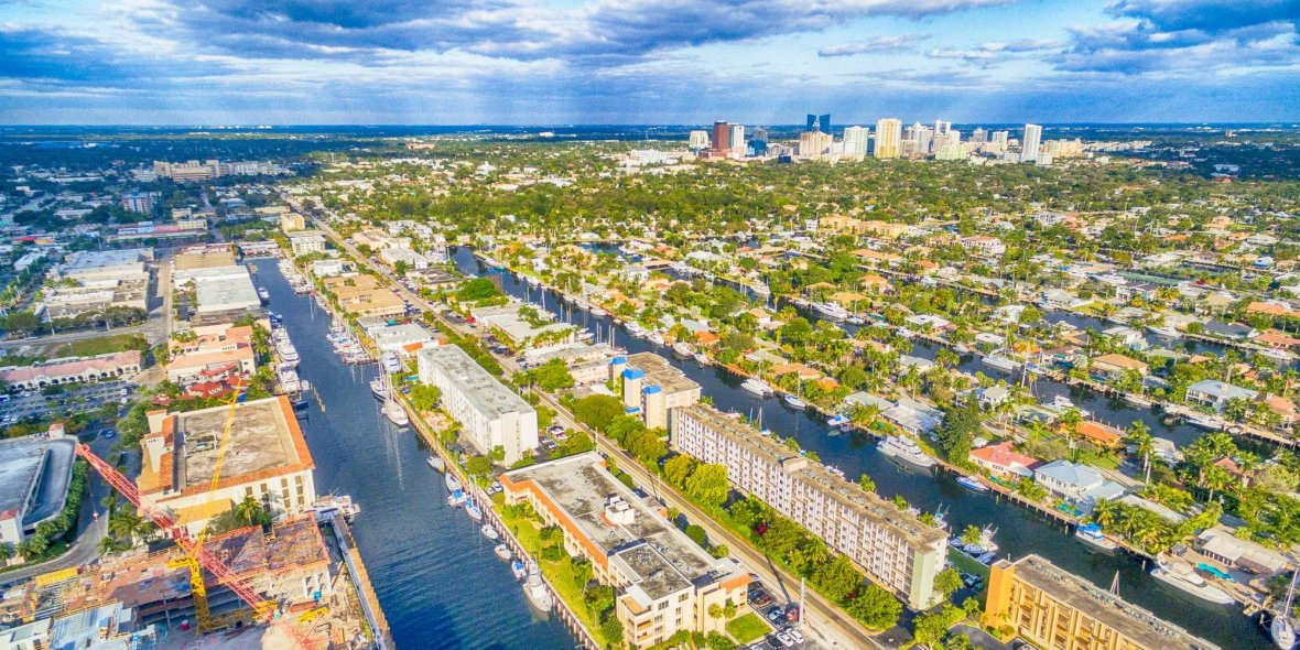 The Florida's real estate. From low-rise buildings toskyscrapers. Photoreport 2020