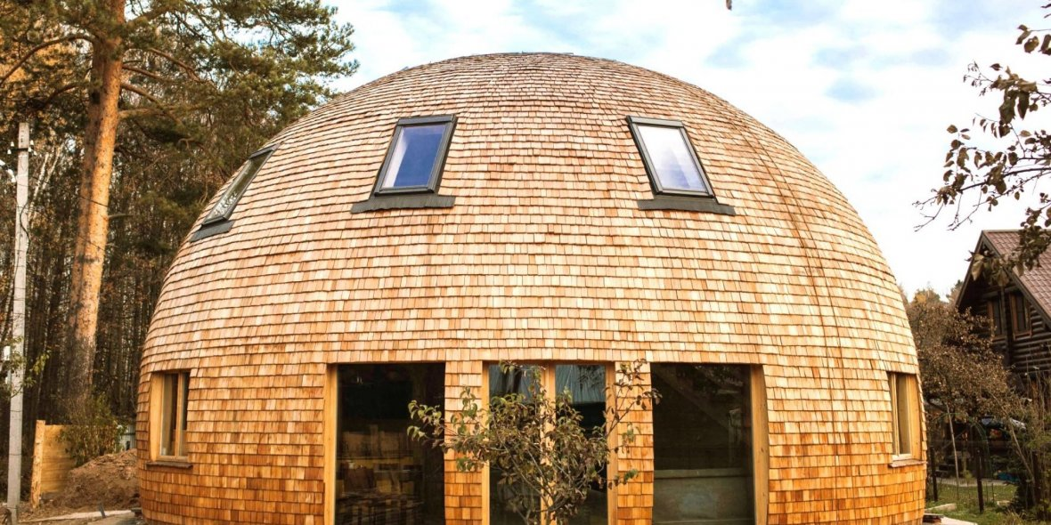 Everything about the roundhouses from the «Realt Café» estate agency specialists