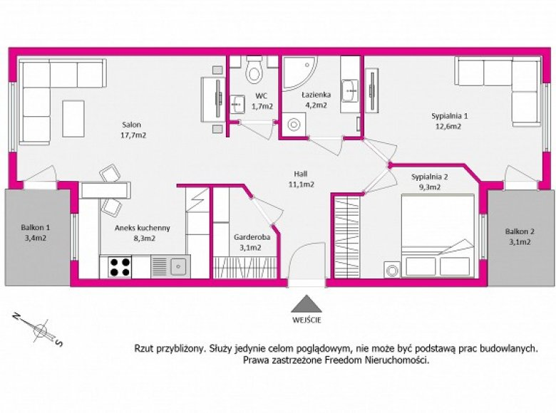 3/4 Bathroom Floor Plans