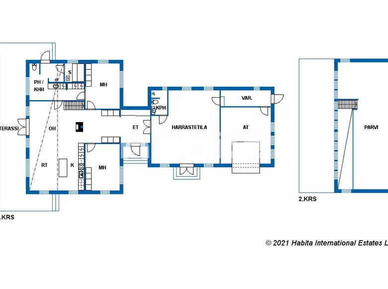 Casa 2 habitaciones 190 m² en Southern Savonia, Finlandia - 48235401
