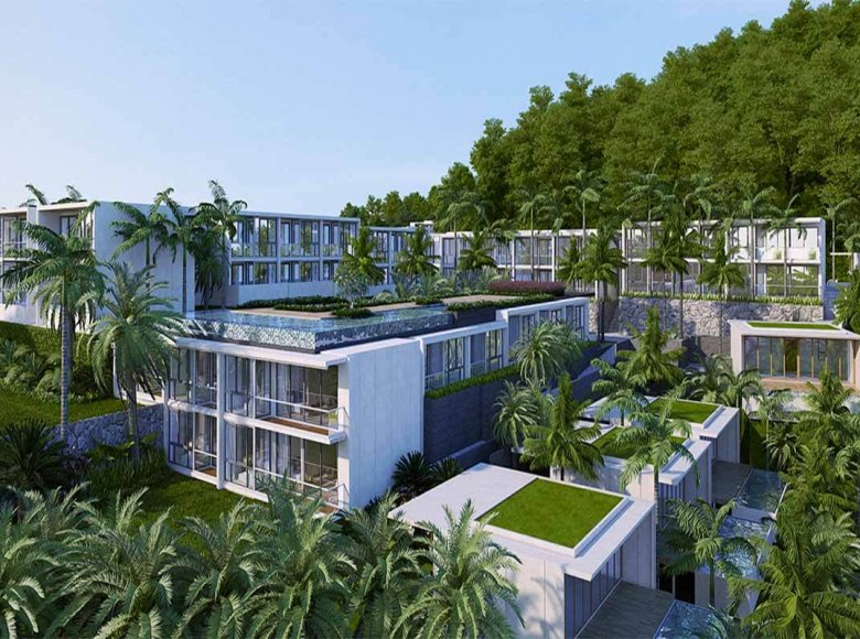 2 room apartment 8 850 m² in Phuket Province, Thailand - 28127795