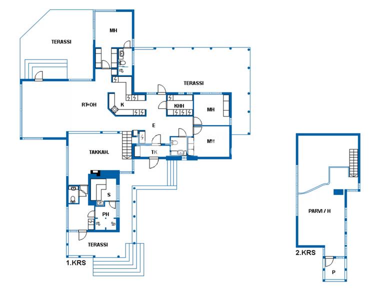 Casa 4 habitaciones 186 m² en Pieksaemaeki, Finlandia - 29013481