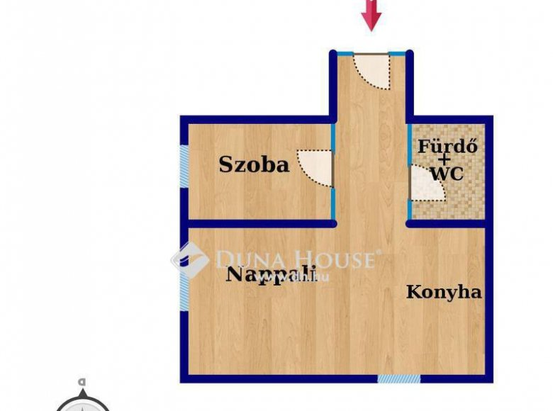 Apartment 43 m² in Budapest, Hungary - 34534725