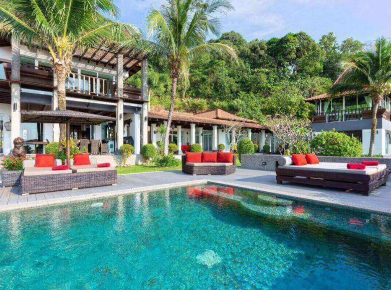 Houses and villas 7 bedrooms 1 050 m² in Phuket Province, Thailand - 41570125