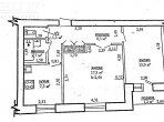 Wohnung 2 Zimmer 51 m² in Homel, Weißrussland
