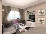 Penthouse 3 Schlafzimmer 334 m² in Trikomo, Nordzypern