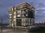 Penthouse 2 bedrooms  in Trikomo, Northern Cyprus