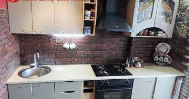 3 rooms the apartment with repair and the built-in kitchen on Solomova St. in Grodno