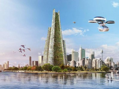 The skyscraper of the future to be built in Dubai